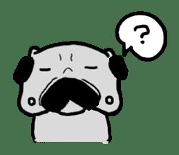 pug sticker6 sticker #5114109