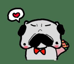 pug sticker6 sticker #5114113