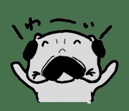 pug sticker6 sticker #5114116
