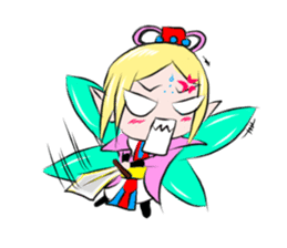 Fortunately playful fairy session sticker #5114965