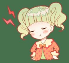 Girls and Rabbits Sticker sticker #5119099