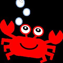 Crab and sea urchin
