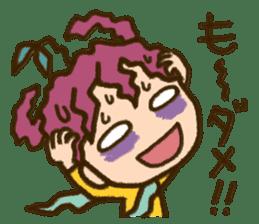 "Expressive""Mumu-chan""feelings sticker #5122972"