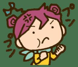 "Expressive""Mumu-chan""feelings sticker #5122975"