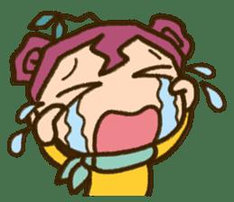 "Expressive""Mumu-chan""feelings sticker #5122976"