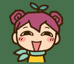 "Expressive""Mumu-chan""feelings sticker #5122980"
