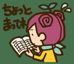 "Expressive""Mumu-chan""feelings sticker #5122993"
