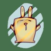 ToastRabbit sticker #5128102