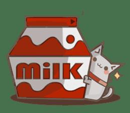 Bean cat sticker #5128402