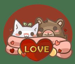 Bean cat sticker #5128413