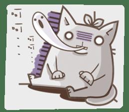 Bean cat sticker #5128428