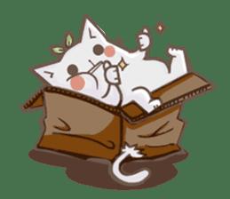 Bean cat sticker #5128436