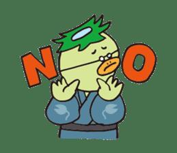Novelist of Kappa &  Pupil of Frog sticker #5129080