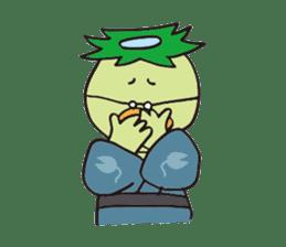 Novelist of Kappa &  Pupil of Frog sticker #5129083
