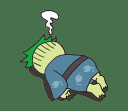Novelist of Kappa &  Pupil of Frog sticker #5129089