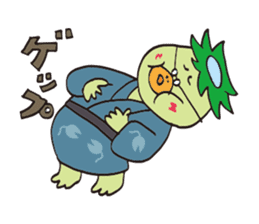 Novelist of Kappa &  Pupil of Frog sticker #5129113