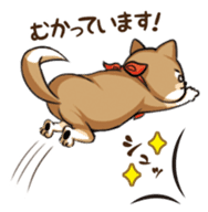 Cute! Funny dog and annoying cat sticker #5131004