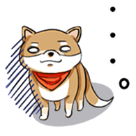 Cute! Funny dog and annoying cat sticker #5131011
