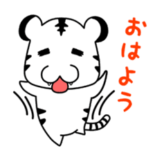 Cute! Funny dog and annoying cat sticker #5131018
