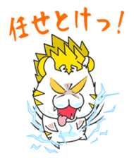 Cute! Funny dog and annoying cat sticker #5131026