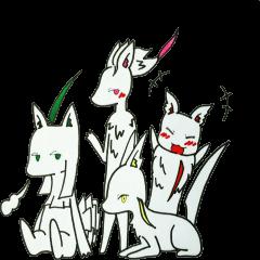 White beasts