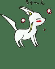 White beasts sticker #5131161