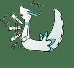 White beasts sticker #5131179