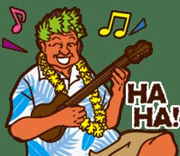 """ALOHA!"" Hawaiian & Tropical Sticker sticker #5131332"