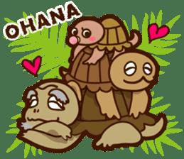 """ALOHA!"" Hawaiian & Tropical Sticker sticker #5131334"