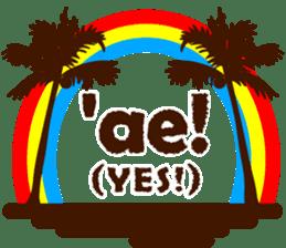 """ALOHA!"" Hawaiian & Tropical Sticker sticker #5131350"