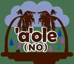 """ALOHA!"" Hawaiian & Tropical Sticker sticker #5131351"
