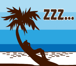 """ALOHA!"" Hawaiian & Tropical Sticker sticker #5131355"