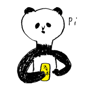 สติ๊กเกอร์ไลน์ giant panda's life