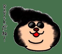 kumanyan  Strange bear sticker #5132813
