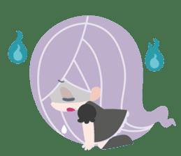 Spooktacular Girl Gabrielle sticker #5145207