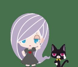 Spooktacular Girl Gabrielle sticker #5145241