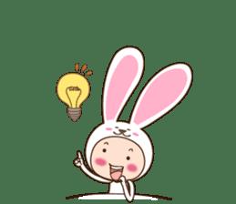 cranky rabbit sticker #5145514