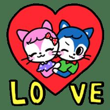60's Cats! sticker #5148439