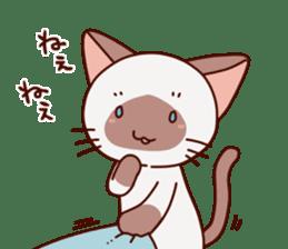 Siamese chan request sticker #5148568