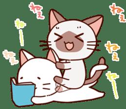 Siamese chan request sticker #5148588