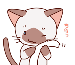 Siamese chan request sticker #5148601
