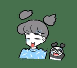 panpaka PANDA sticker #5152281