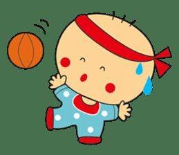 Jhen-jhu meatballs(Big-Head Boy) sticker #5160582