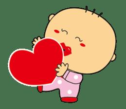 Jhen-jhu meatballs(Big-Head Boy) sticker #5160590