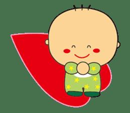 Jhen-jhu meatballs(Big-Head Boy) sticker #5160593
