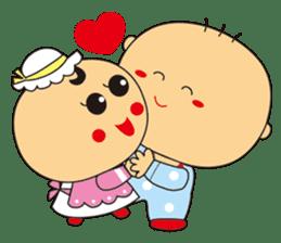 Jhen-jhu meatballs(Big-Head Boy) sticker #5160595