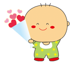 Jhen-jhu meatballs(Big-Head Boy) sticker #5160598