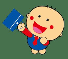 Jhen-jhu meatballs(Big-Head Boy) sticker #5160599