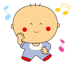 Jhen-jhu meatballs(Big-Head Boy) sticker #5160600