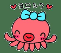 machan of octopus sticker #5160772